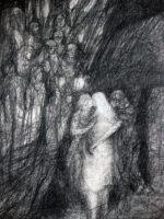Judaskus - formaat 60 x 80 cm